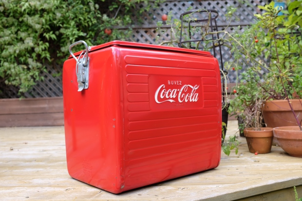 Glacière Coca Cola 1950