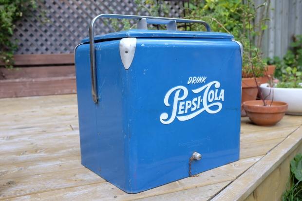 Glacière Pepsi Cola 1950