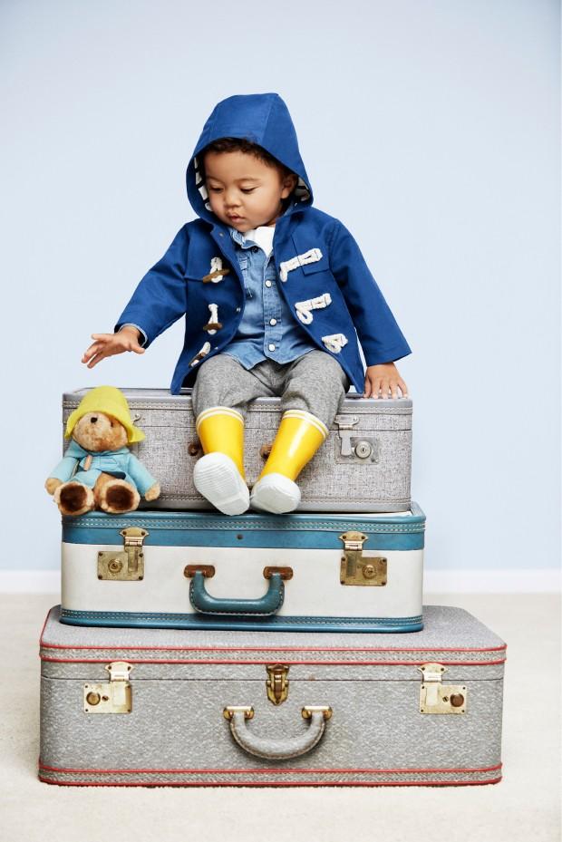 Charmant sur ces petites valises vintage.