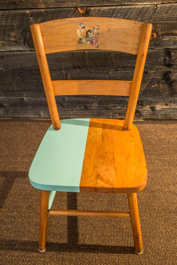 chaise années 50